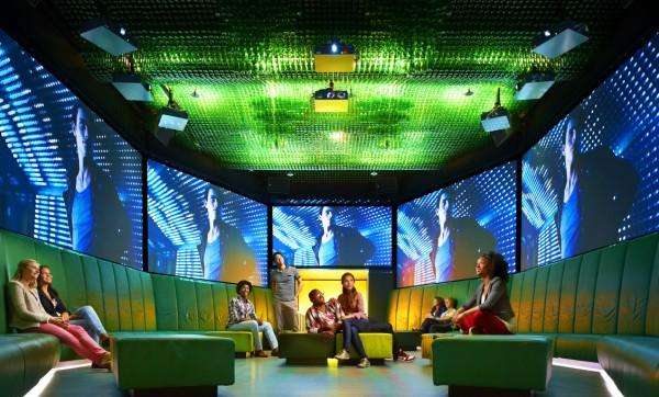 Интерактивное представление в Музее Хайнекен