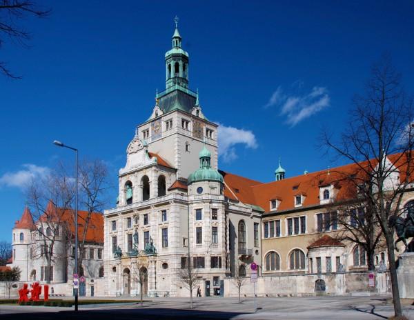 Здание Баварского национального музея в Мюнхене