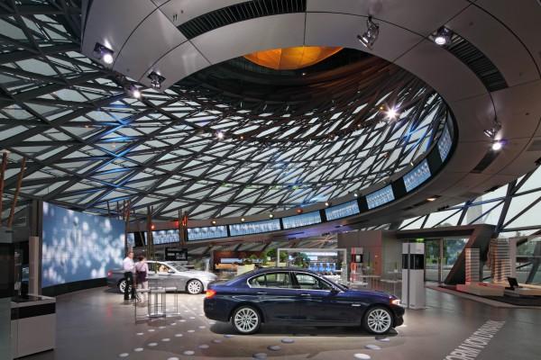 Современные технологии в музее БМВ