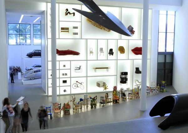 Инсталяции в Пинакотеке модерна в Мюнхене