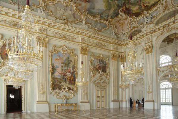 Роскошь дворца Нимфенбург