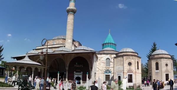 Здание музея крутящихся дервишей в Стамбуле