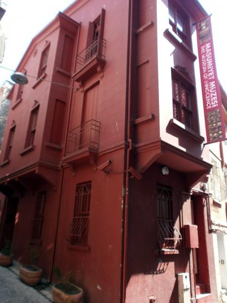 Фасад Музея Невинности в Стамбуле