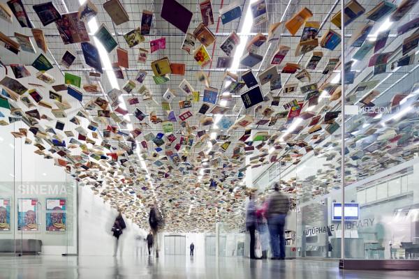 Библиотека музея современного искусства Стамбула