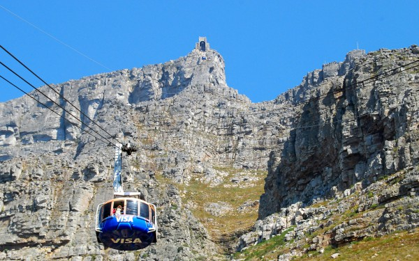 Столовая гора в Кейптауне