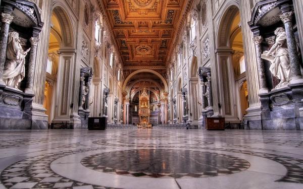 Собор Святого Иоанна Крестителя на Латеранском холме в Риме
