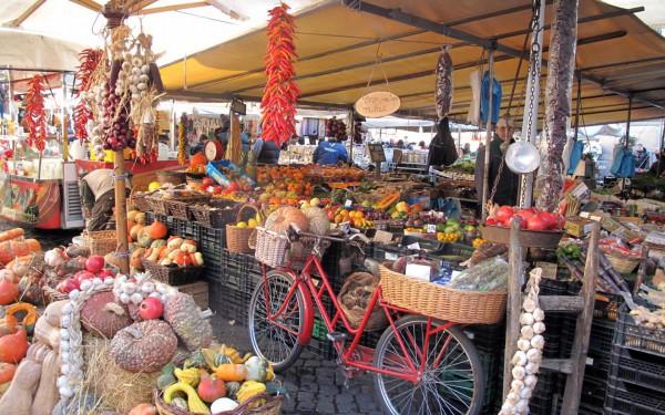 Рынок Кампо-дей-Фиори
