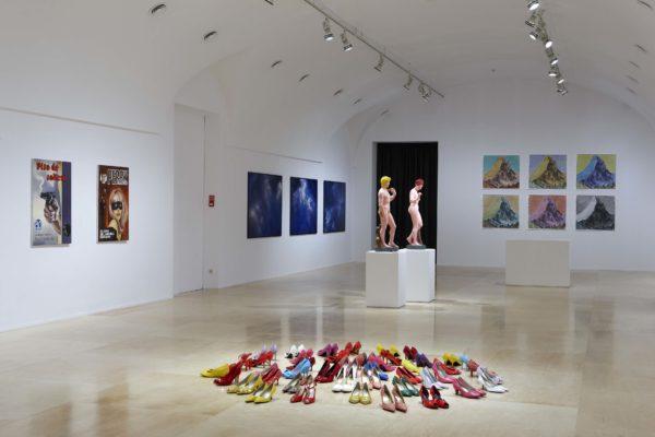 Выставочный зал центра искусств королевы Софии в Мадриде