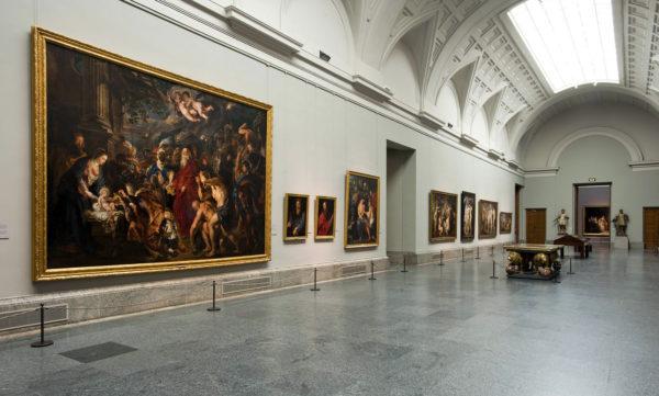 Выставочные зал музея Прадо