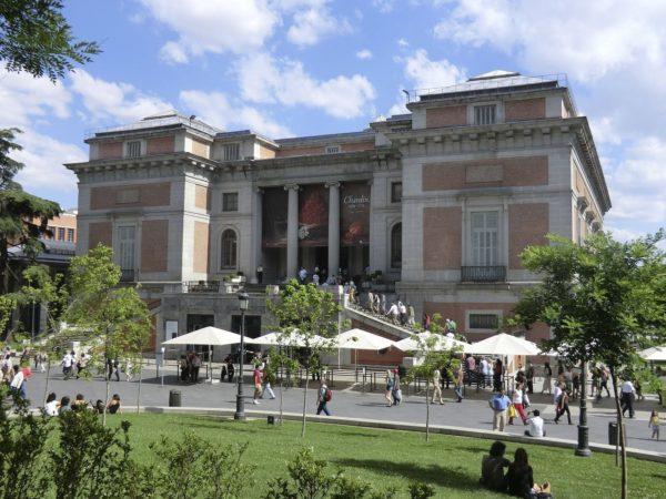 Здание музея Тиссен-Борнемиса в Мадриде