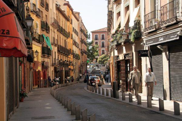 Улица Кава Баха в Мадриде
