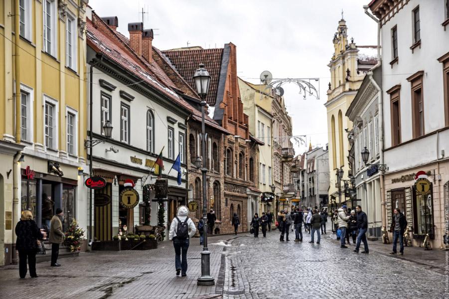 Дешевые отели и авиабилеты от 4816 руб. в Вильнюсе на выходные
