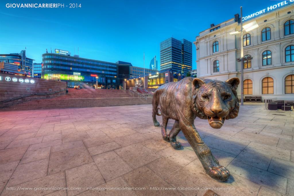 Осло, Норвегия - Центральная станция