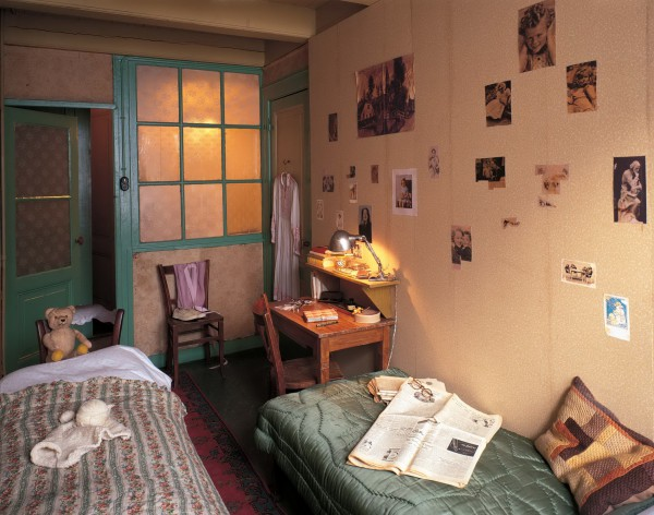 Обстановка дома Анны Франк