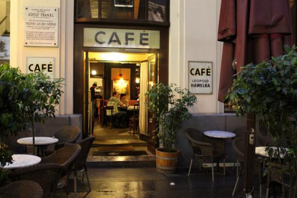 Вход в кофейню