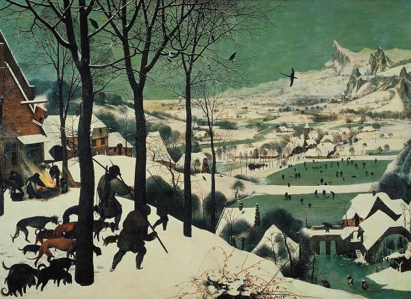 Охотники на снегу в Венском Музее истории искусств