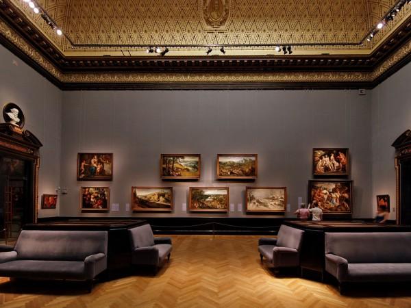 Галерея венского музея Истории искусств