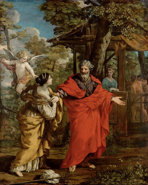 Возвращение Агари в Венском Музее истории искусств