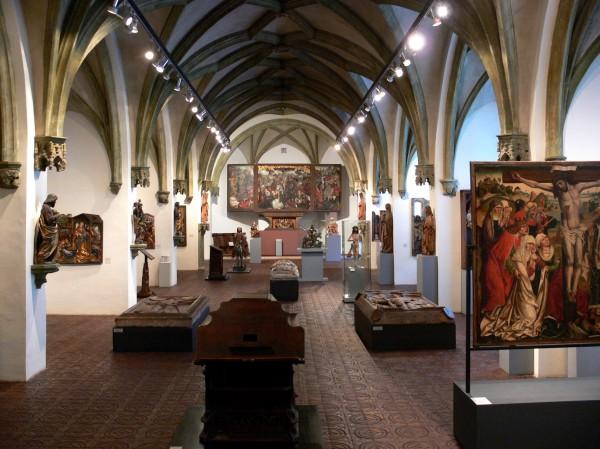 Выставочный зал Баварского национального музея в Мюнхене