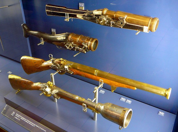 коллекция оружия и доспехов в Баварском национальном музее в Мюнхене
