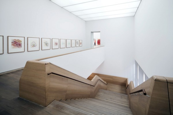 Архитектура музея Брандхерст в Мюнхене