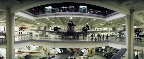 Солидный экспонат в Немецком музее в Мюнхене