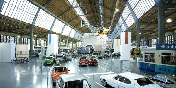 Наглядная история автомобилестроения в Немецком музее в Мюнхене