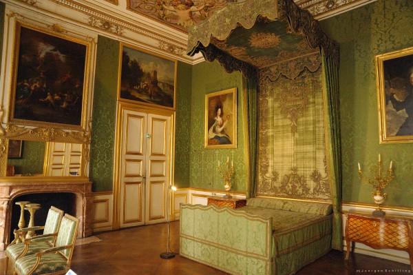 Спальня в Дворце Нимфенбург