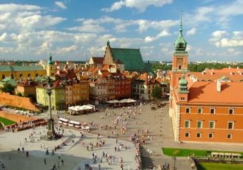 Осенние выходные в Варшаве