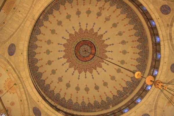 Купол мечети султана Эйюпа в Стамбуле