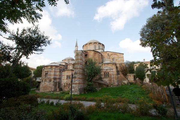 Церковь Христа Спасителя в Полях или Музей Карие в Стамбуле