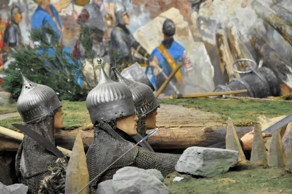 Реконструкция военных действий в стамбульском военном музее