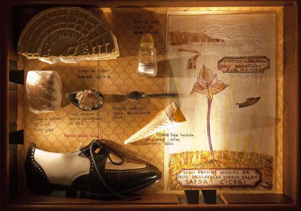 Один из экспонатов музея Невинности в Стамбуле
