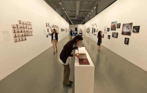 Выставочный зал в Музее современного искусства Стамбула