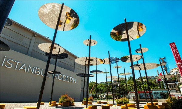 Вход в Музей современного искусства Стамбула