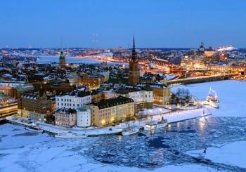 Дешевый перелет в Стокгольм на выходные от 10480 руб.