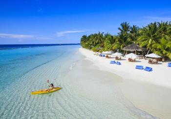 Недорогой отдых на Мальдивах от 35 000 руб. за человека на 8 дней