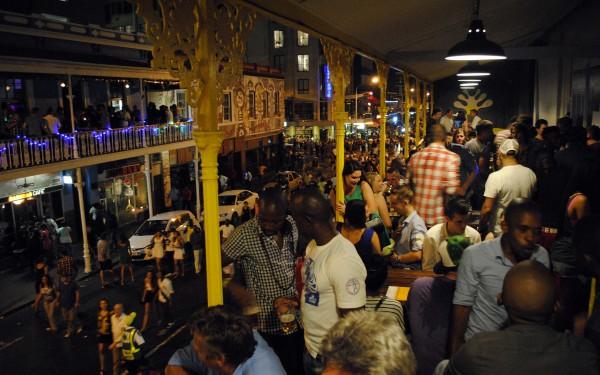 улица Лонгстрит в Кейптауне