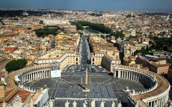 Вид на Ватиканский холм