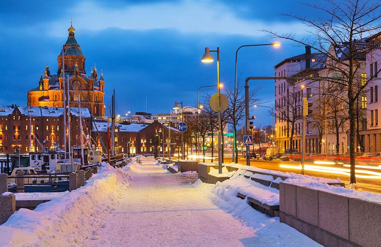 Волшебные выходные в Хельсинки