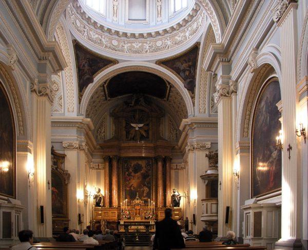 Часовня Монастыря Дескальсас Реалес в Мадриде