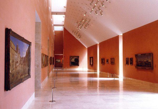 Галерея в музее Тиссен-Борнемиса в Мадриде