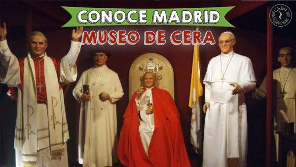 Папа Римский в музее восковых фигур в Мадриде