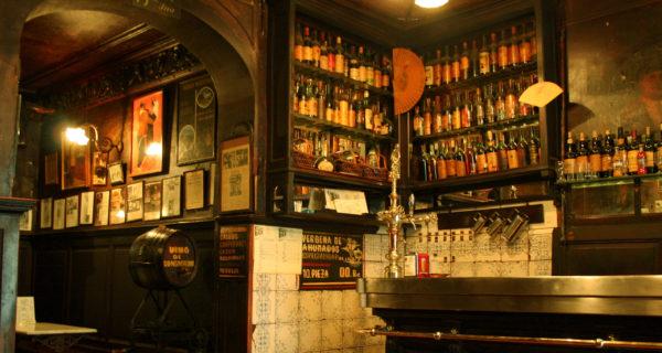 Кабачок Антонио Санчеса в Мадриде